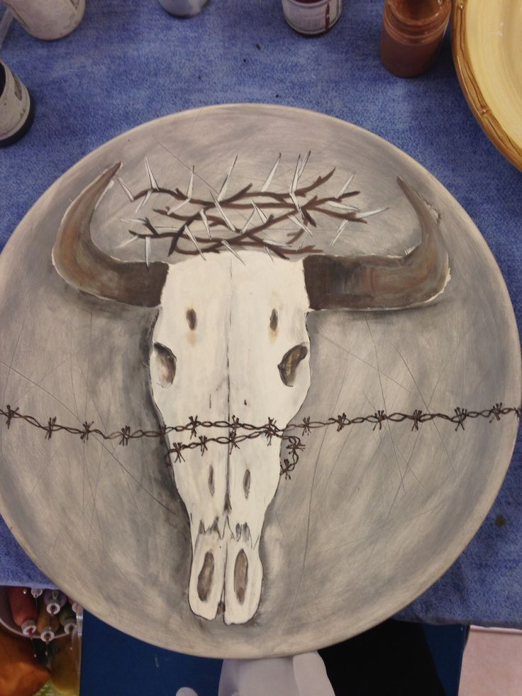 Wildebeest with barbed wire
