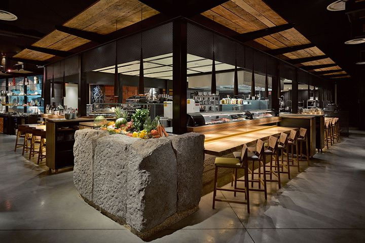 Yojisu restaurant, grocery and coffee shop, Aix-les-Milles – France