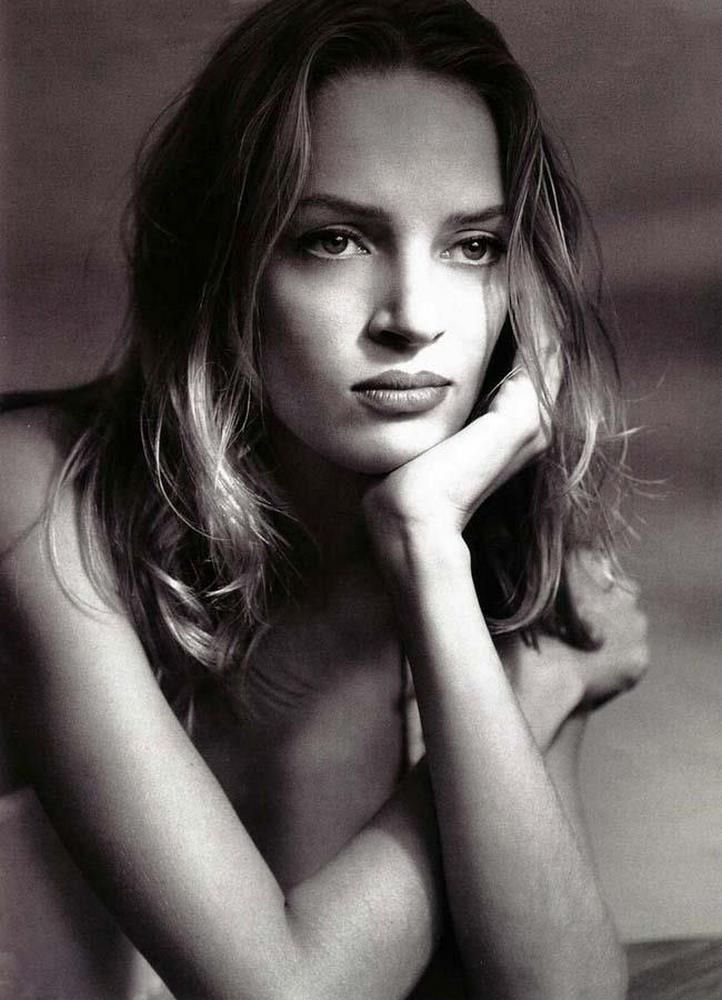 Uma Thurman by Albert Watson