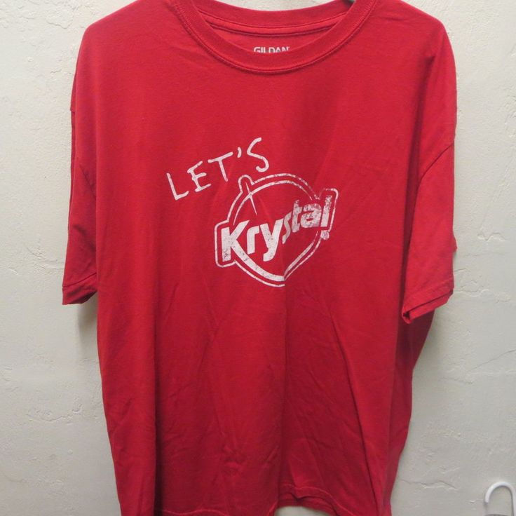 Krystals Krystal Restaurant Anniversary Promo T-shirt 81 YRS Of Sharing Squares