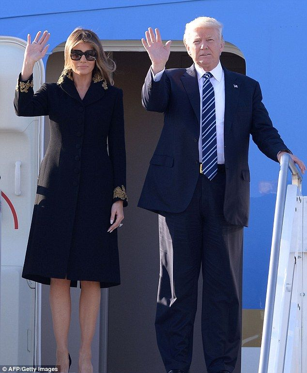 Do it in Dolce & Gabbana like Melania #DailyMail  Click 'Visit' to buy now