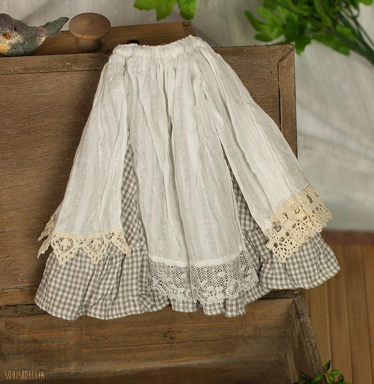 Minifee Mori Skirt - White