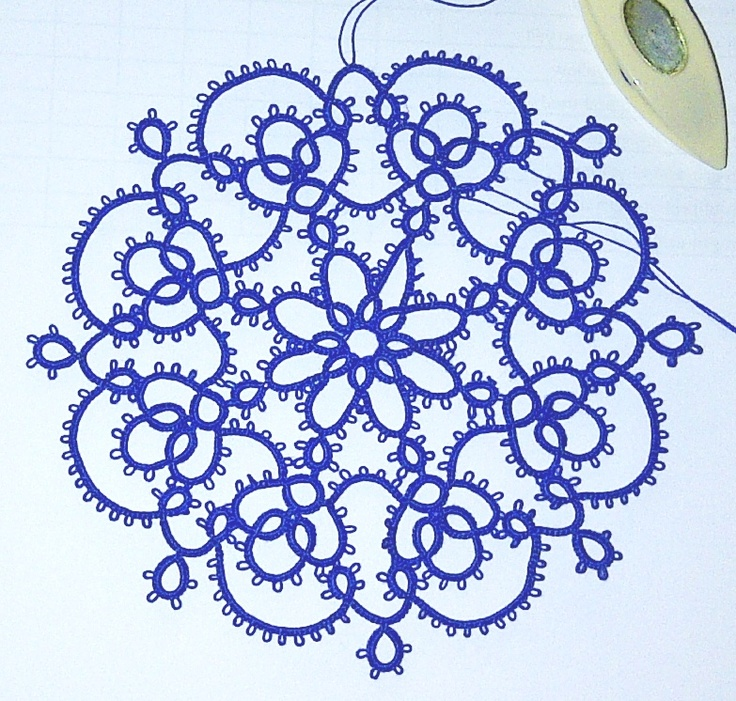 The Lace Mat. Love the color~!~