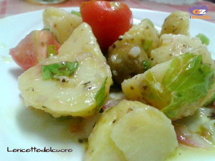 Insalata di patate un antipasto fresco o un contorno sfizioso, una ricetta semplice che accompagna i nostri piatti in qualsiasi modo, semplice e veloce