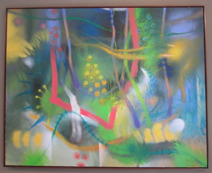 Terraza Óleo sobre lienzo 160 x 200 cms 2005 Colección privada