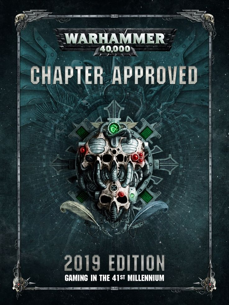 [PDF] Warhammer 40,000 Chapter Approved 2019 By Games