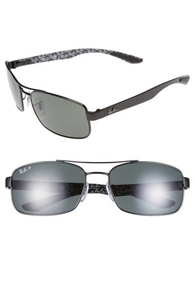 Ray-Ban 62mm Polarized Sunglasses available at #Nordstrom