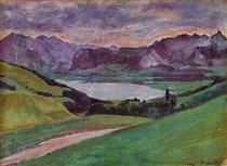 Lake Thun - Фердинанд Ходлер