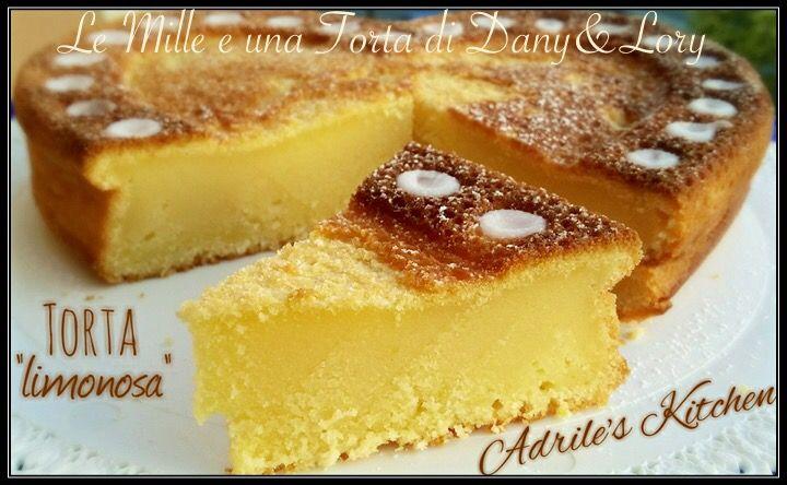 Condividi la ricetta...TORTA LIMONOSA RICETTA DI: Adriana Cipriano Ingredienti: 200 g di ricotta 160 g di zucchero semolato 2 limoni non trattati (scorza e succo) 3 uova 100 g di farina 60 g di fecola…