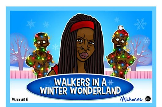 the walking dead christmas - Google Search