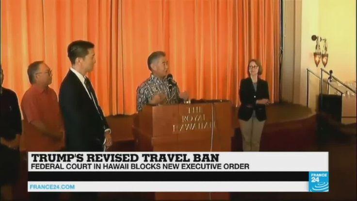 "Trump's travel ban: ""It violates the establishment clause"" - https://www.youtube.com/watch?v=ALnjK2GajUY"