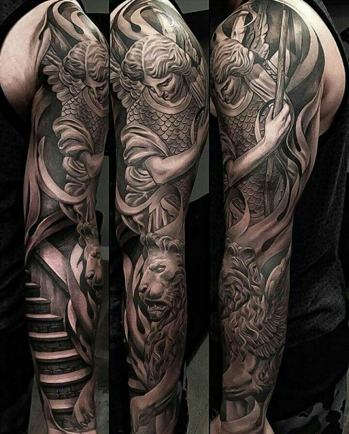 Tattoo By Ig Evilkolors Tattoos Tattoos Sleeve