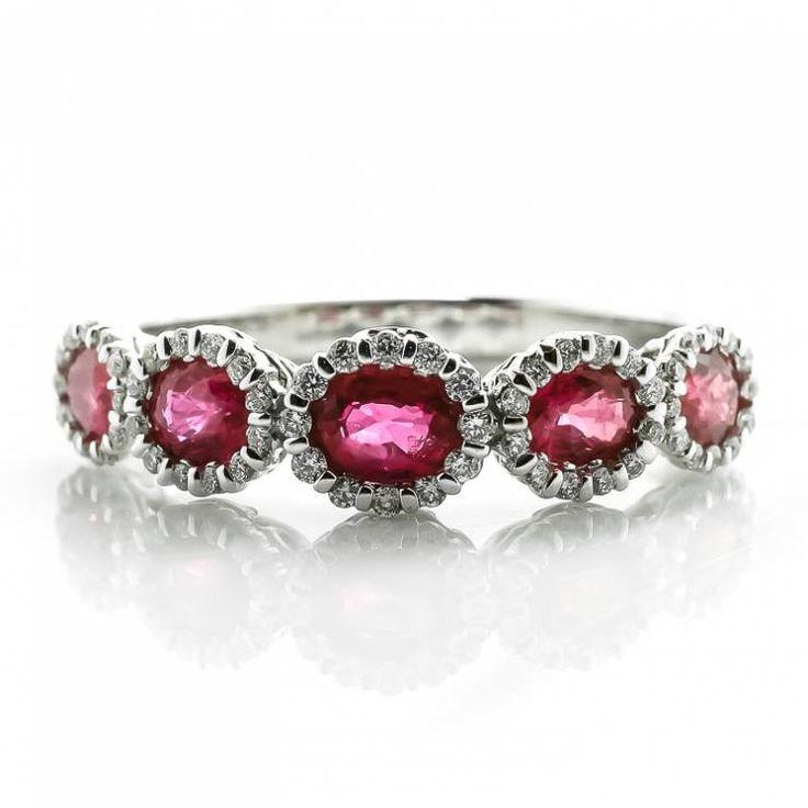Amato Oltre 25 fantastiche idee su Anelli a fascia con diamanti su  RK14
