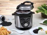 Panela de Pressão Elétrica Mondial Pratic Cook - PE-26 700W 3L Timer Controle de Temperatura