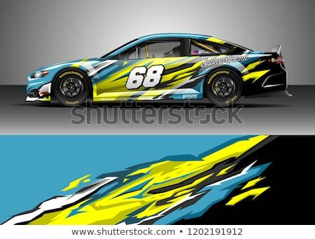 Find Racing Car Wrap Design Vector Graphic Abstract