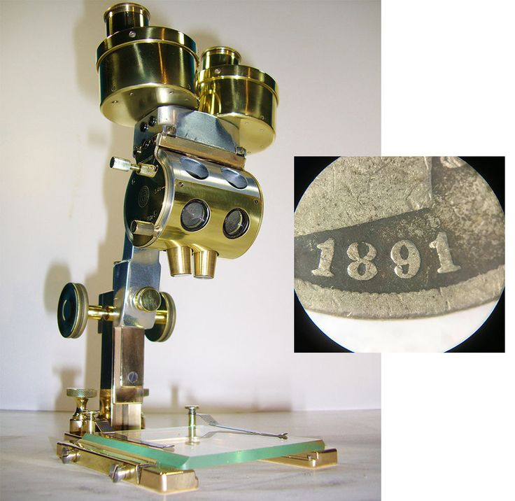 INCREDIBLE Antique Stereoscopic Dissecting MICROSCOPE Bausch & Lomb VINTAGE  | eBay