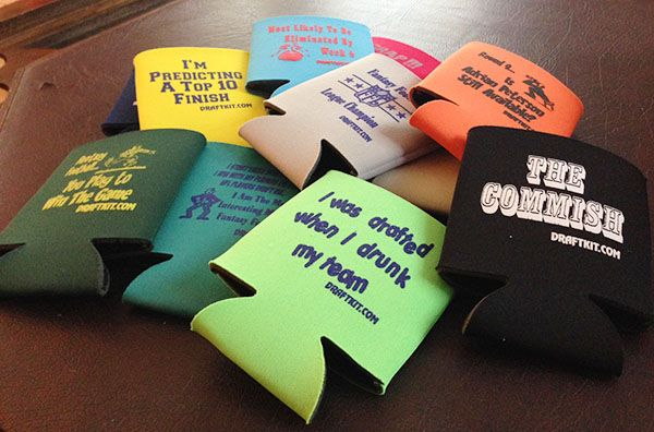 Football Draft Party Koozies