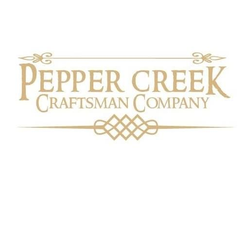 We specialize in creating uniquely handcrafted wooden signs and home décor. Each item is made upon order. Please do not hesitate to contact us for custom orders. Visit us on Facebook at www.facebook.com/PepperCreekCraftsmanCo