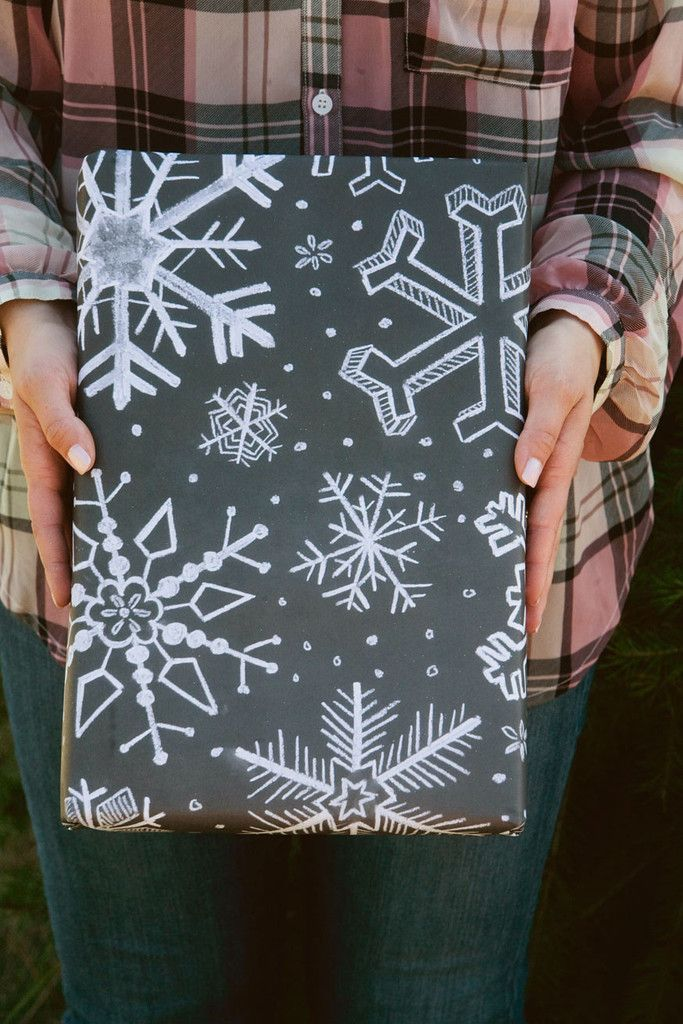 Specialty Wrapping Sheets - Snowflake Pattern - Lily & Val