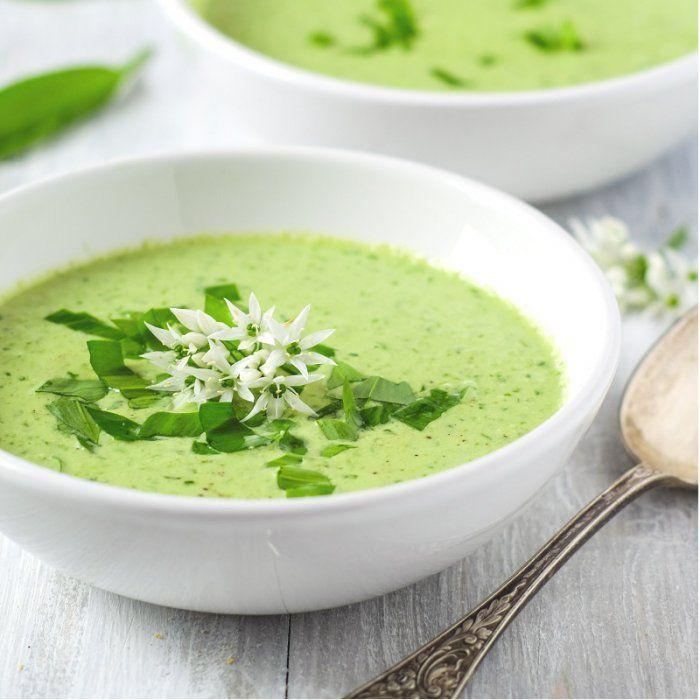 Gaspacho brocolis et amandes