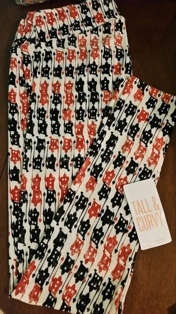 f02ae3535e51c2 New Lularoe Disney Villains 2018 Queen of hearts cards TC Legging #fashion # clothing #shoes #accessories #womensclothing #leggings (ebay link)