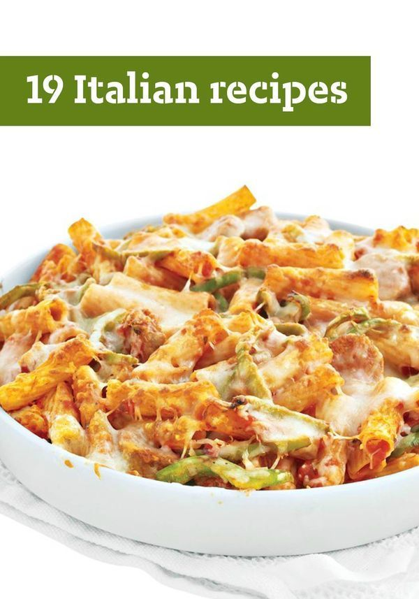 19 Italian Recipes – From pasta and pizza to delicious desserts, here are our favorite Italian recipes to try with your family on the dinner table tonight!
