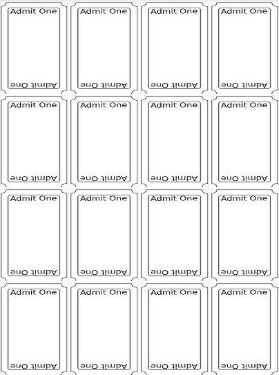 Best 25+ Ticket template free ideas on Pinterest Ticket template - printable ticket template free