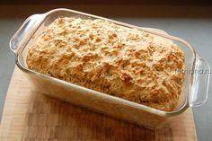 бездрожжевой хлеб на пиве с сыром и укропом