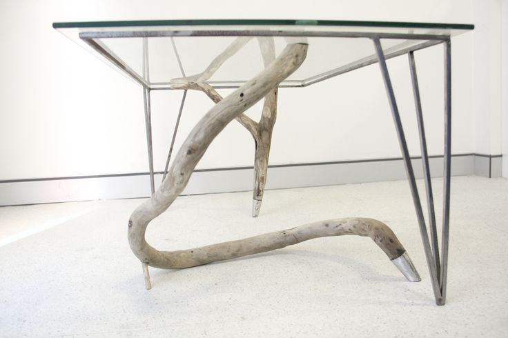 Driftwood Table - sustainable design. Visit http://kimdeniseohrstrom.tumblr.com for more pictures