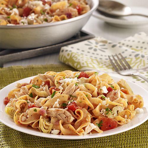 Mediterranean Tuna Noodle Skillet | Recipe | Skillets, Recipes for ...
