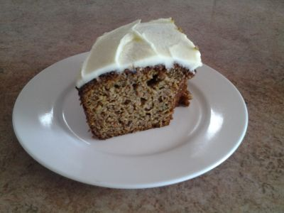 Quick Carrot and Zucchini Cake