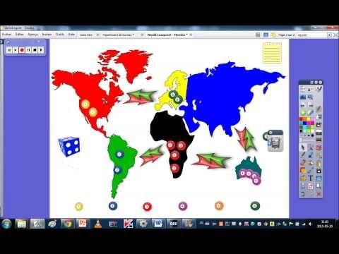 World Conquest - ActivInspire Game