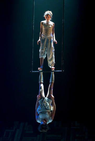 Duo trapeze. Les 7 doigts- Le Murmure du Coquelicot