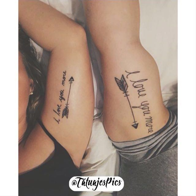 I always tell my man this and he tells me back, been wanting matching tattoos and this just may be the one!!