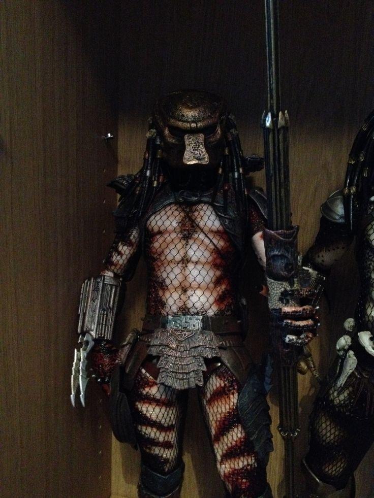 Neca 1/4 predator 2 city hunter