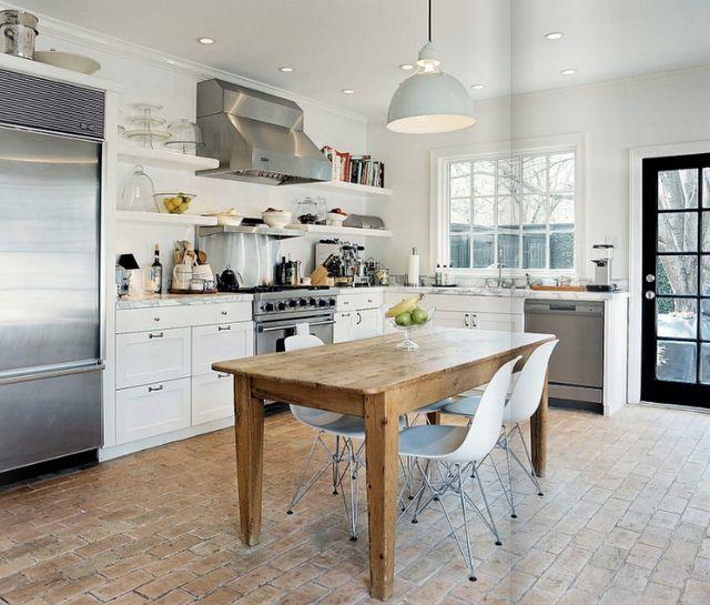 Modern + Rustic Kitchen