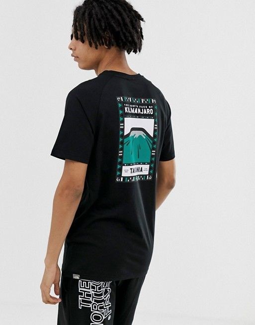 044e714e7 The North Face North Faces t-shirt in black Exclusive in 2019   asos ...