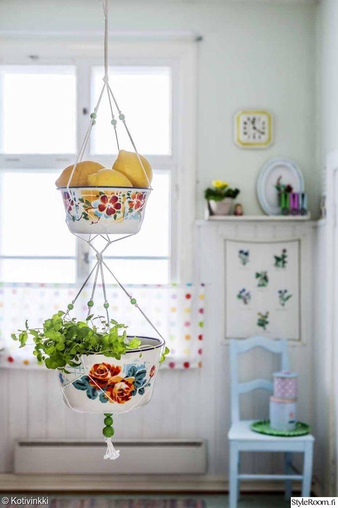 keittiö,kierrätysidea,astiat,tee itse,koristeet
