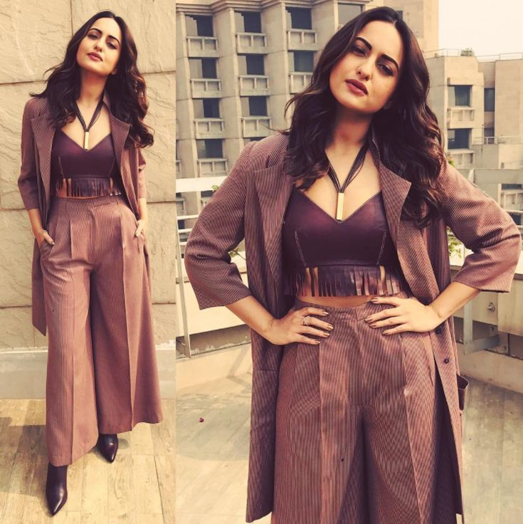 Sonakshi's fashion was a game-changer this year.