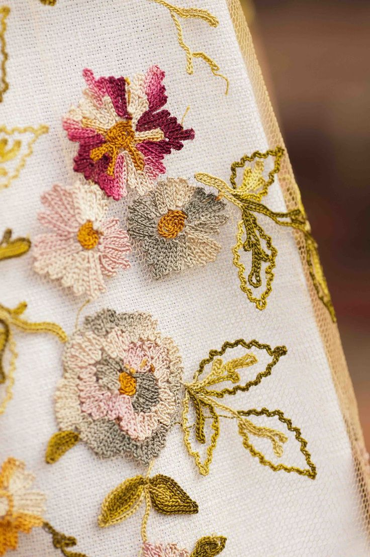 Brazilian embroidery bedspread designs - Blog Of Susan Elliott Where She Shares Her Life Through Her Needlework And Photography Tambour Embroideryembroidery Ideashand