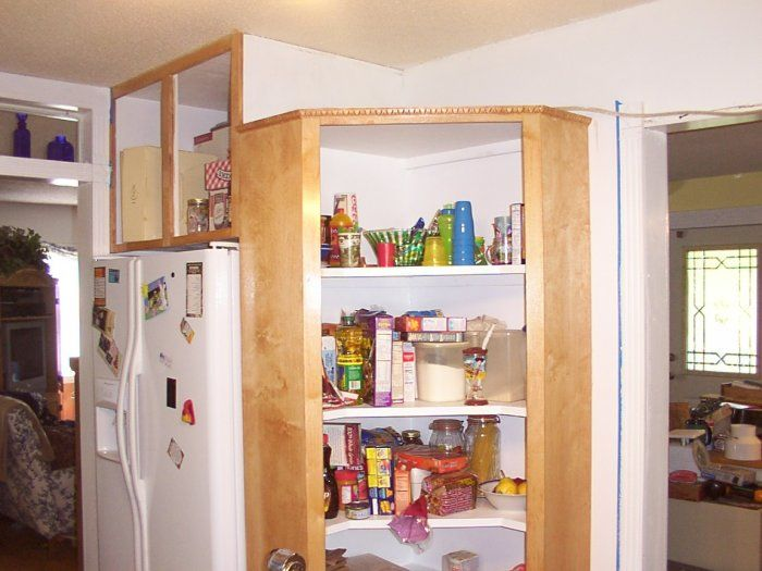 Finest Best Images About Corner Cabinet On Pinterest Corner Cabinets With Pantry  Cabinet Kitchen.