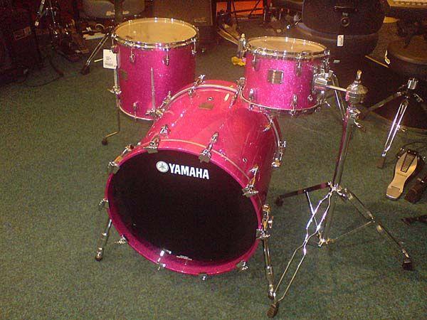 yamaha pink drums color crush pink drums pink music hot pink. Black Bedroom Furniture Sets. Home Design Ideas