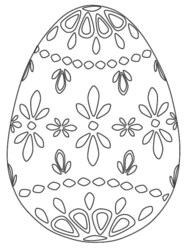 ausmalbild osterei drucken vorlage osternmalbild 166