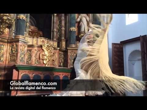 VÍDEO Baile flamenco a cámara lenta con bata de cola y mantón - Global Flamenco