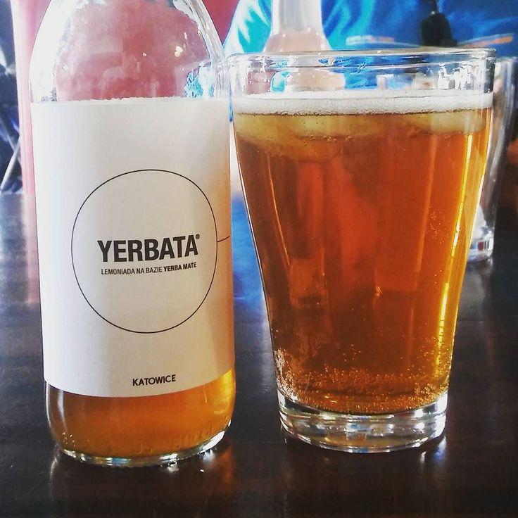 Zimny złocisty napój - mowa oczywiście o #yerba mate od John Lemon