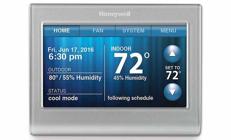 Honeywell Color Touch Thermostat Black Friday Deal 2017