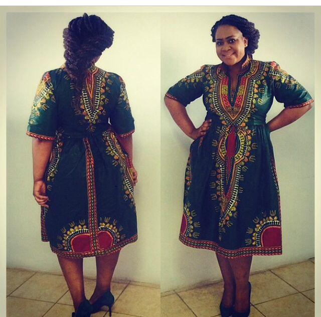 Dashiki Plus Size Boom Dress Ankara Love African Traditional