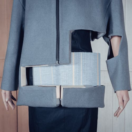 Constructing Voids with Charlotte Ham | The Cutting Class. Garments from Void by Charlotte Ham's label I C E.
