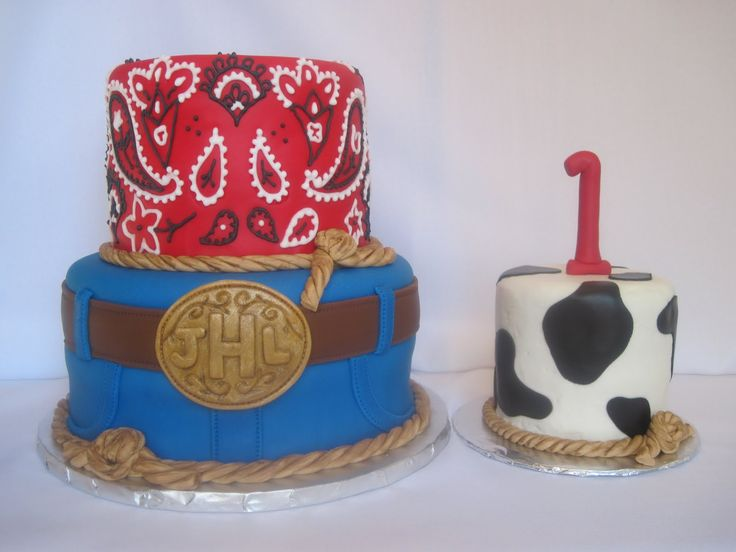 western baby birthday | Heathers Cakes and Confections: Western Birthday Cake