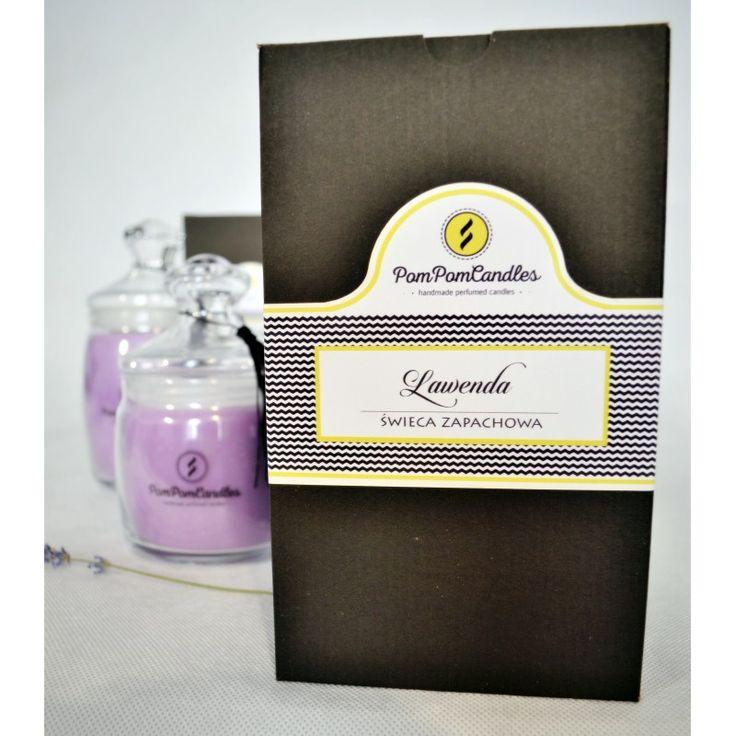 Świeca zapachowa Lavender Pom Pom Candles